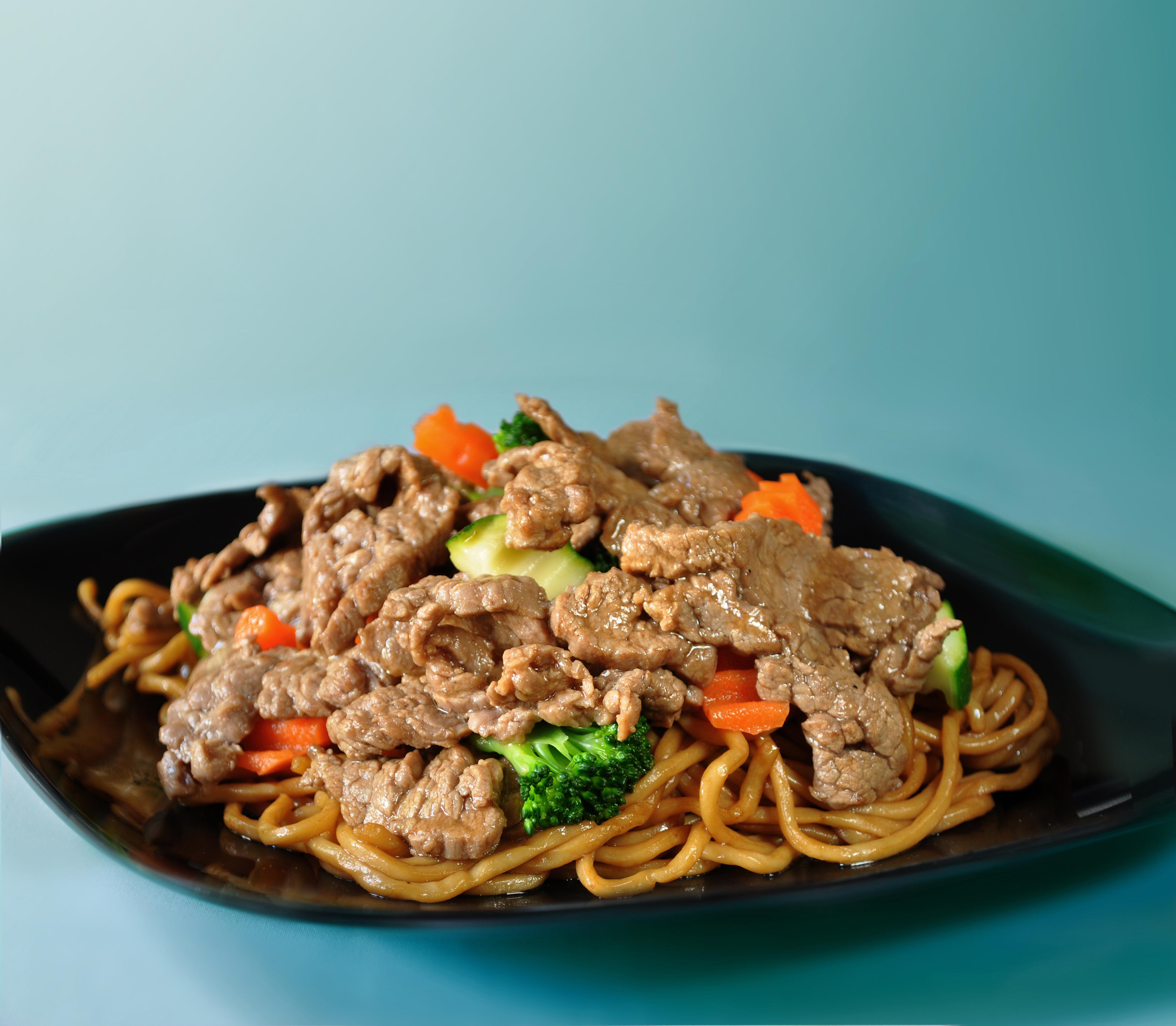 Beef Yakisoba Noodles